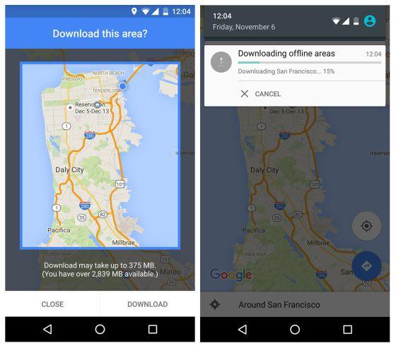 Google maps ya funciona sin conexin tecnologa el pas google maps mapa gumiabroncs Choice Image