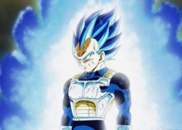 La increíble nueva transformación de Vegeta en Dragon Ball