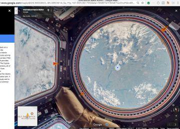 ¿Quieres visitar la Estación Espacial Internacional desde tu sofá?