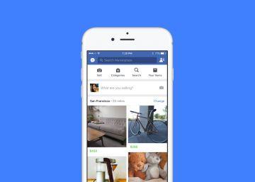 Marketplace, el Wallapop de Facebook, aterriza en España