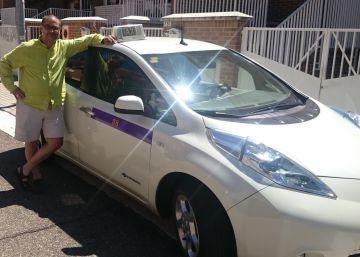 300.000 kilómetros en seis años: la historia del primer taxi eléctrico en España