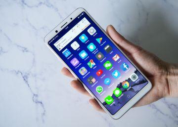 La china OPPO reta a Apple y Samsung con el F5, su primer móvil de pantalla ?infinita?