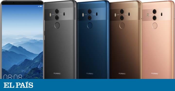 ed77f2b1db5 Huawei Mate 10: inteligencia artificial en el móvil | Tecnología | EL PAÍS