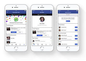 Facebook anuncia un Messenger para niños