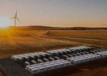 La batería gigante de Tesla responde a un apagón en tiempo récord