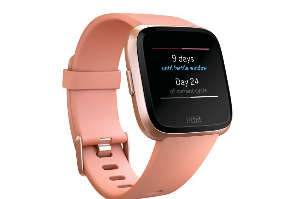Fitbit estrena Versa, un 'smartwatch' que controla el ciclo menstrual