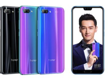 Honor 10, una buena réplica del Huawei P20 a mitad de precio