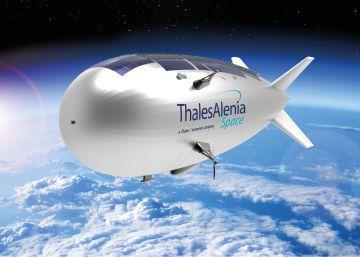 Así es el dirigible que fusiona las ventajas de los drones y los satélites