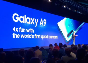 Samsung Galaxy A9: el primer móvil con cinco cámaras para conquistar a los ?millennials?