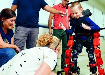 """""""Nuestro exoesqueleto genera en los niños una motivación infinita"""""""