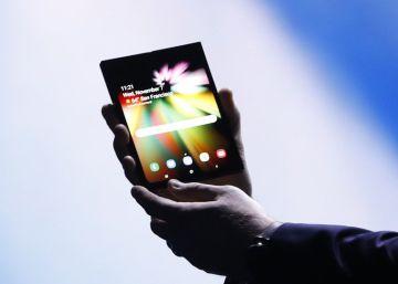 El lanzamiento comercial del móvil plegable de Samsung será en marzo