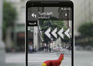 Google Maps usará la realidad aumentada para ayudarte a llegar a tu destino