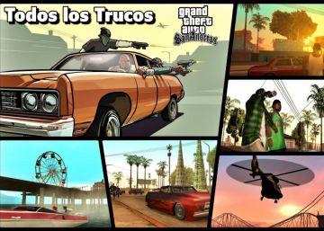 Todos los trucos y claves de ?GTA San Andreas? en PC, PS2, PS3, Xbox y 360