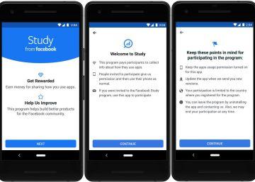 Facebook lanza una aplicación para acceder a los datos de los usuarios a cambio de dinero
