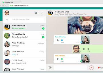 WhatsApp ensaya usar la misma cuenta en distintos dispositivos