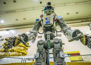 Fedor, el primer robot humanoide ruso, ya está en el espacio