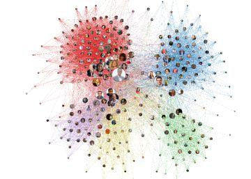 Así son las conexiones de los diputados en Twitter: el crecimiento de Vox polariza aún más el Congreso