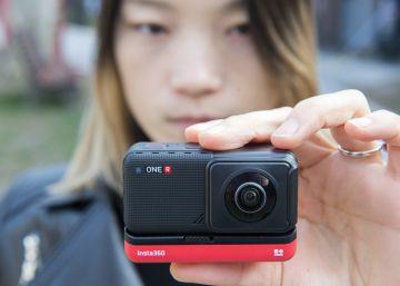 Una cámara modular que aúna lo mejor del vídeo de acción y del universo 360