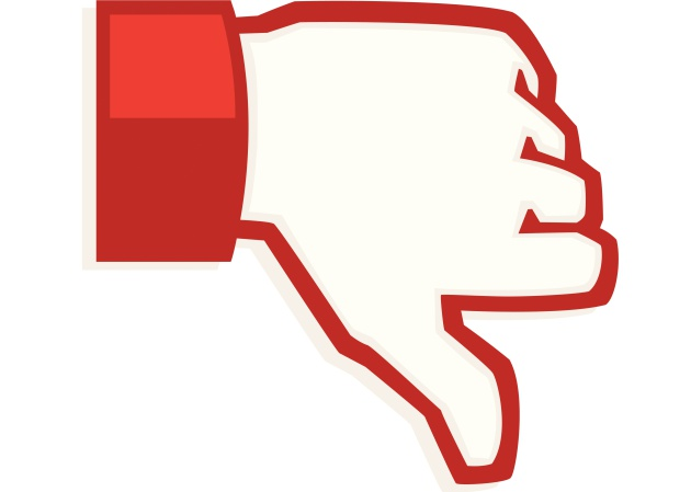 """Botão """"não Curti"""" No Facebook Não Vai Ser Como"""